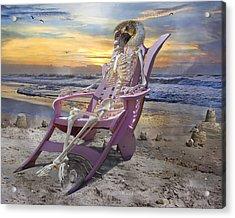 Sam Becomes Animalistic Acrylic Print by Betsy Knapp