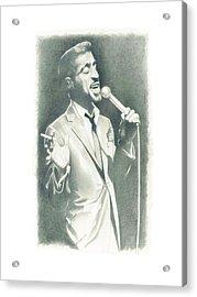 Sammy Davis Jr Acrylic Print by Gordon Van Dusen
