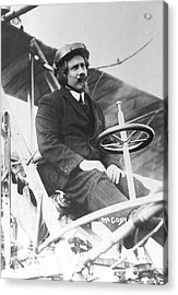 Samuel Franklin Cody In His Biplane Acrylic Print by Universal History Archive/uig