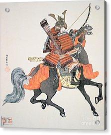 Samurai Acrylic Print by Japanese School