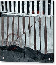 San Andreas Fault Acrylic Print by Carol Leigh