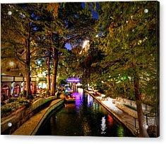 San Antonio Hdr 001 Acrylic Print by Lance Vaughn