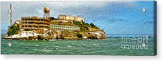 San Francisco - Alcatraz - 02 Acrylic Print by Gregory Dyer
