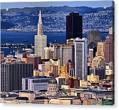 San Francisco Acrylic Print by Camille Lopez