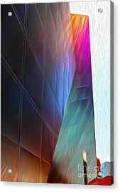 San Francisco - Contemporary Jewish Museum - 02 Acrylic Print by Gregory Dyer
