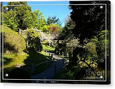 San Francisco Golden Gate Park Japanese Tea Garden 7 Acrylic Print by Robert Santuci