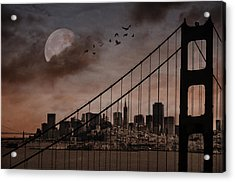 San Francisco Acrylic Print by Marie  Gale