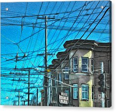 San Francisco - Mission District - 01 Acrylic Print by Gregory Dyer
