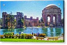 San Francisco - Palace Of Fine Arts - 02 Acrylic Print by Gregory Dyer