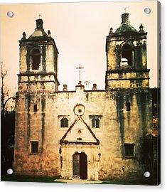 San Jose Mission Acrylic Print by Patricia Januszkiewicz