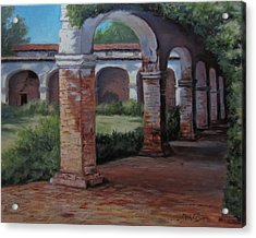 San Juan Capistrano  Acrylic Print by Mar Evers