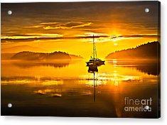 San Juan Sunrise Acrylic Print by Robert Bales