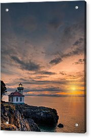 San Juan Sunset Acrylic Print by Dan Mihai