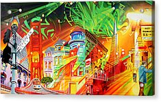 San Phranphisco Acrylic Print by Joshua Morton