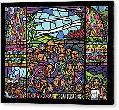 San Romero De Las Americas Acrylic Print by Ricardo Levins Morales