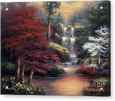 Sanctuary Acrylic Print by Chuck Pinson