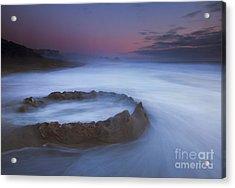 Sand Castle Dream Acrylic Print by Mike  Dawson
