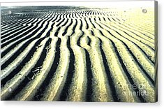 Sand Groove Acrylic Print by Graham Foulkes