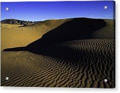 Sand Ripples Acrylic Print by Chad Dutson