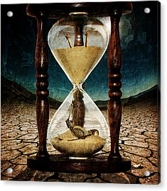 Sands Of Time ... Memento Mori  Acrylic Print by Marian Voicu