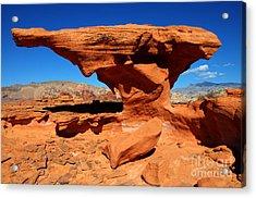 Sandstone Landscape Acrylic Print by Bob Christopher