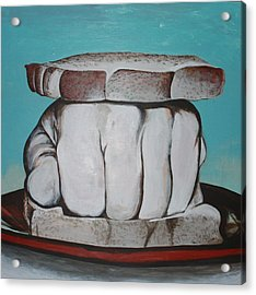 Sandwich Of The Day Acrylic Print by Kate Tesch
