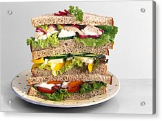 Sandwiches Acrylic Print by Science Photo Library