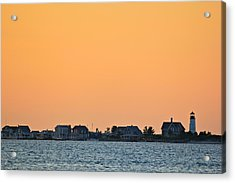 Sandy Neck Lighthouse Acrylic Print by Amazing Jules