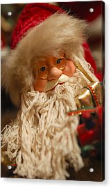 Santa Claus - Antique Ornament - 08 Acrylic Print by Jill Reger