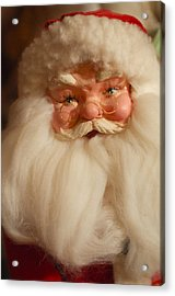 Santa Claus - Antique Ornament - 14 Acrylic Print by Jill Reger