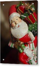Santa Claus - Antique Ornament - 28 Acrylic Print by Jill Reger