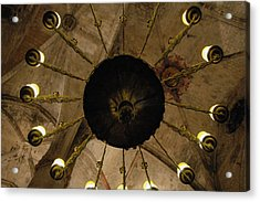 Santa Maria Del Mar Basilica IIi Acrylic Print by Kathy Schumann
