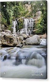 Santo Cristo Falls Acrylic Print by Oscar Gutierrez