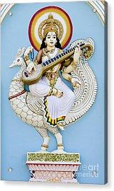 Saraswati Acrylic Print by Tim Gainey