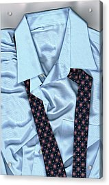 Saturday Morning - Men's Fashion Art By Sharon Cummings  Acrylic Print by Sharon Cummings