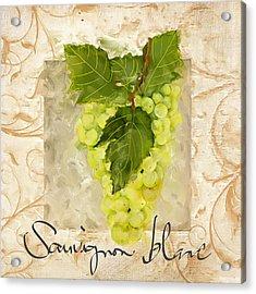 Sauvignon Blanc II Acrylic Print by Lourry Legarde