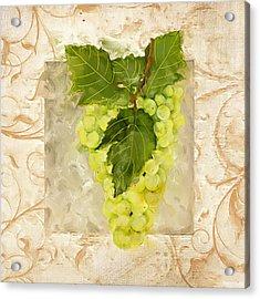 Sauvignon Blanc Acrylic Print by Lourry Legarde