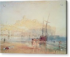 Scarborough, 1825 Acrylic Print by Joseph Mallord William Turner