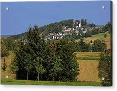 Schauenstein - A Typical Upper-franconian Town Acrylic Print by Christine Till
