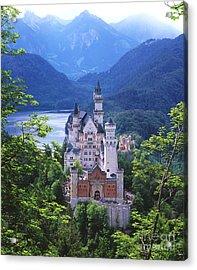 Schloss Neuschwanstein Acrylic Print by Timm Chapman