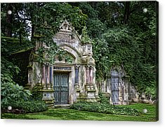 Schofield Crypt Acrylic Print by Tom Mc Nemar