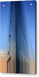 Sci-fi Fantasy Building Acrylic Print by Toppart Sweden