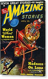 Science Fiction Cover, 1939 Acrylic Print by Granger