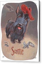 Scottie's Beaming Acrylic Print by Shawn Shea