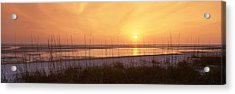 Sea At Dusk, Gulf Of Mexico, Tigertail Acrylic Print by Panoramic Images
