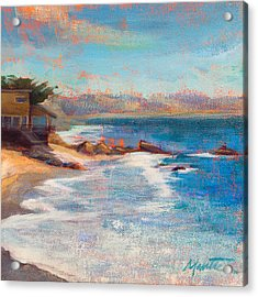 Sea Breeze Acrylic Print by Athena  Mantle