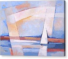 Sea Light Acrylic Print by Lutz Baar