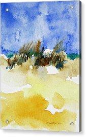 Sea Oats Acrylic Print by Julianne Felton