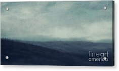 Sea Of Trees And Hills Acrylic Print by Priska Wettstein