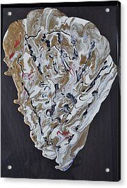 Sea Shell Acrylic Print by Brenda Chapman